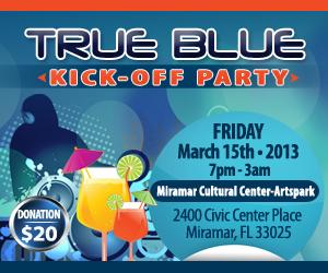 True Blue Weekend Party