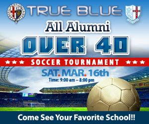 True Blue Over 40 Soccer